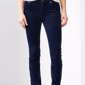 Gap jeans corduroys real straight size 26 navy